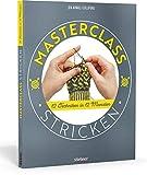 Masterclass Stricken. 12 Techniken in 12 Monaten. Mehr als Socken und Pullover: kreative Projekte für ein ganzes Jahr. Abwechslungsreiche Stricktechniken und Strickmuster für Fortgeschrittene.