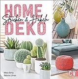 Home-Deko stricken & häkeln. Stylische Wohn-Accessoires selbst gestalten. Vom Teppich über Sitzkissen bis zum Tischläufer - Häkel- und Strick-Projekte in aktuellen Farben und Trend-Motiven.