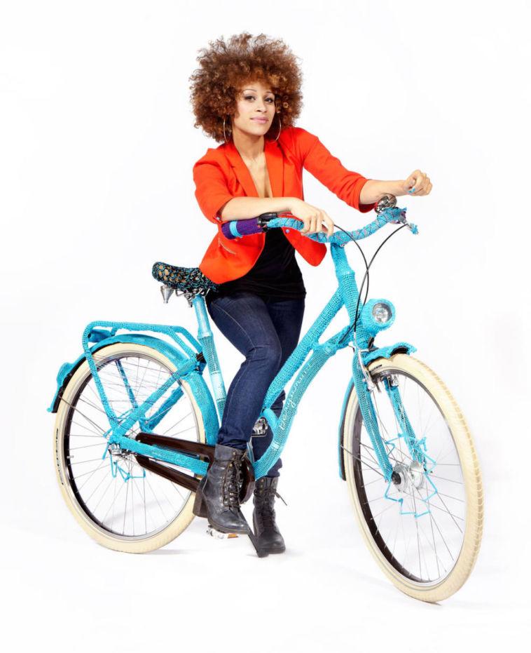 Bergamont Guerilla Knitting – Bergamont versteigert umstrickte Fahrräder