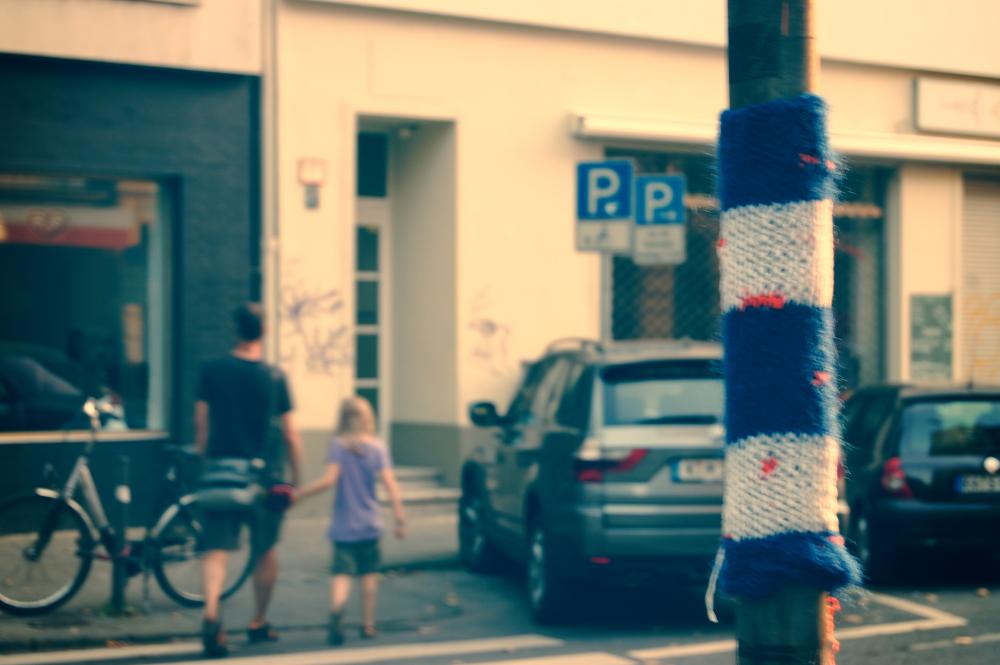 knit art Knit Art im Belgischen Viertel – Trend in europäischen Großstädten