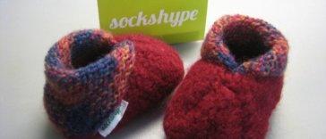 babyschuhe stricken Babyschuhe stricken aus Filzwolle – Anleitung