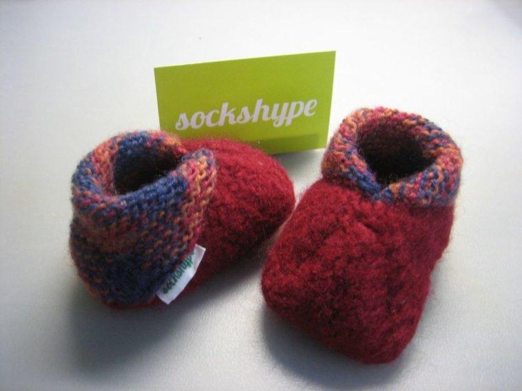 Babyschuhe Stricken Aus Filzwolle Anleitung Sockshypecom