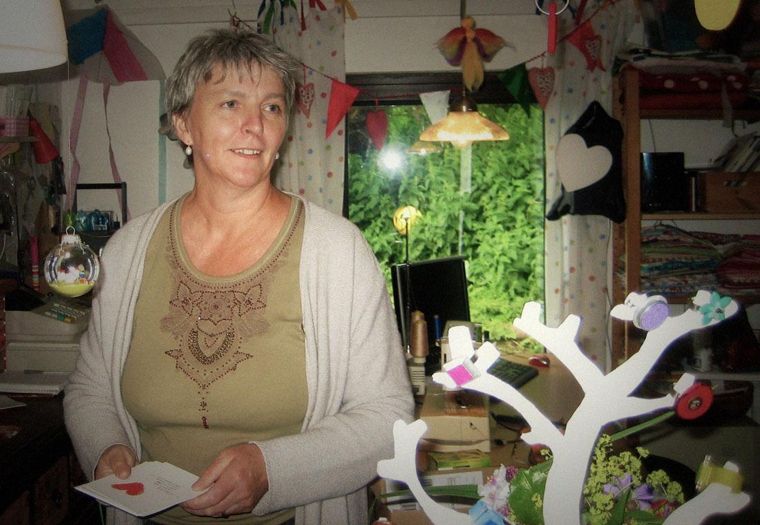 Grödersby Berit Schneider betreibt Tüddel & Lütt in Grödersby