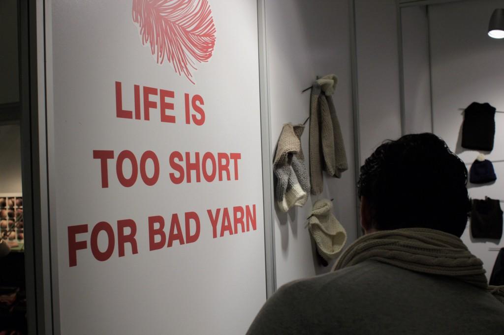 Life is too short for bad yarn. Hobby und Handwerk Hobby und Handwerk 2013 – Junge Unternehmen mischen auf.