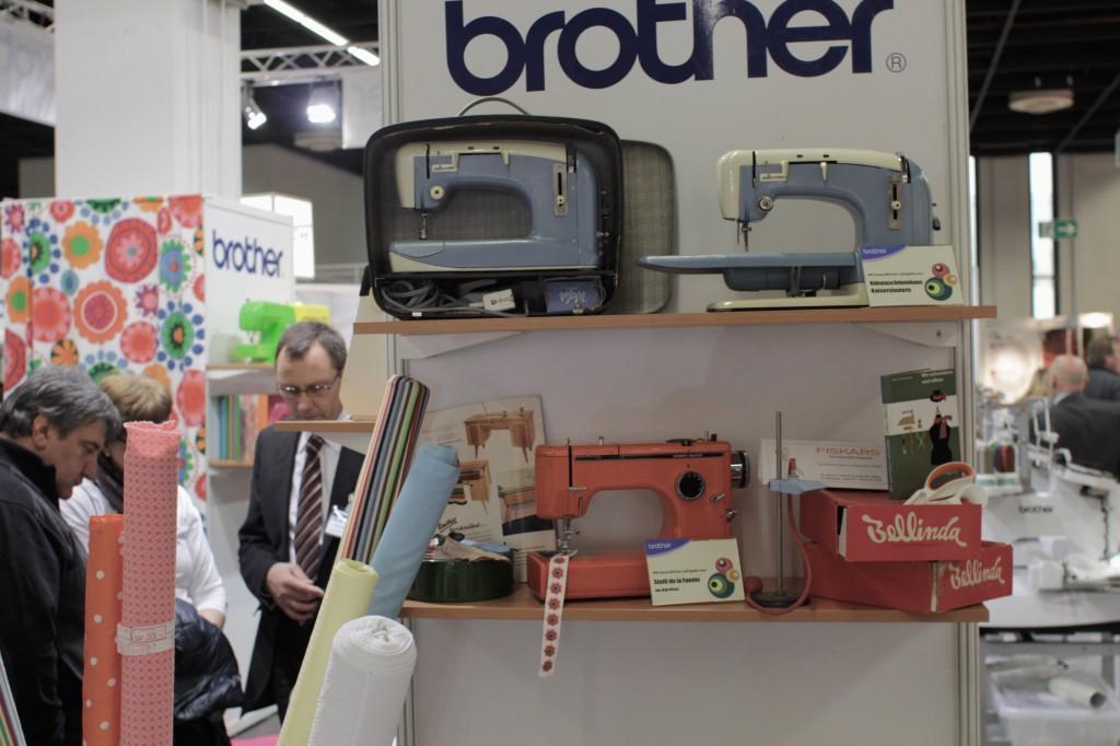 Alte Nähmaschinen von Brother Hobby und Handwerk Hobby und Handwerk 2013 – Junge Unternehmen mischen auf.