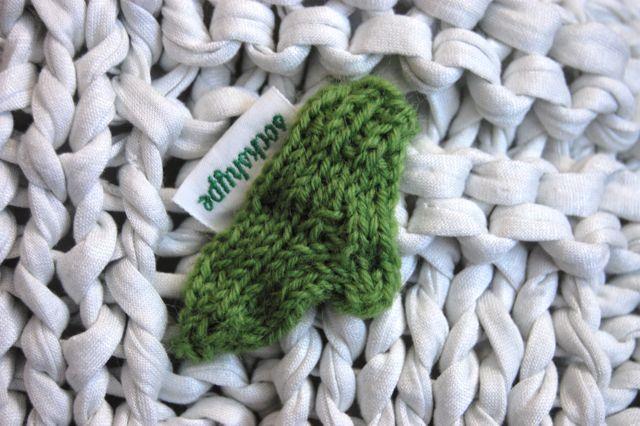 Kissen Stricken Mit Textilgarn Und Muster 50x50