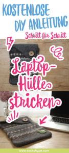 Laptophülle stricken