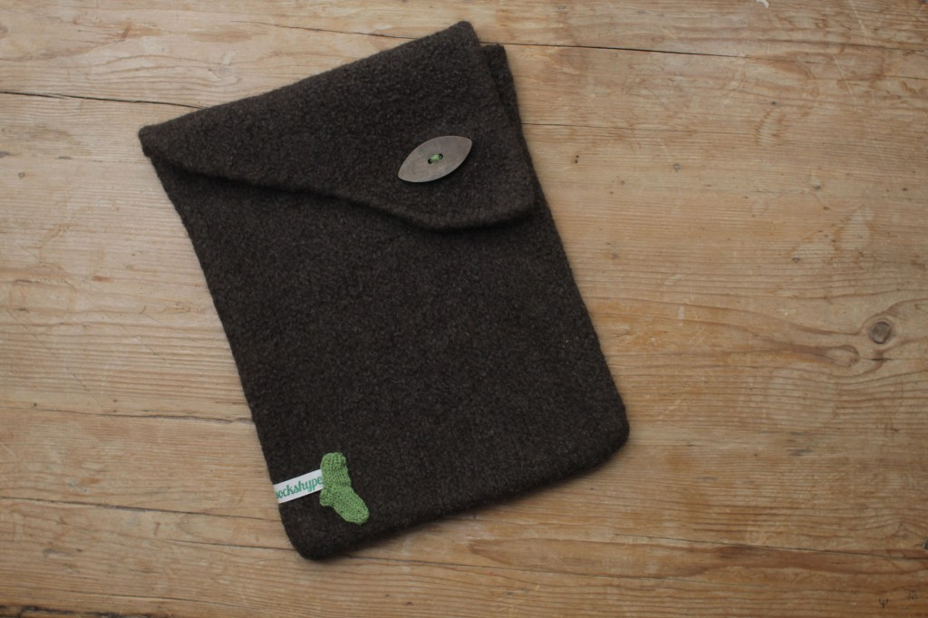 Laptoptasche stricken mit Filzwolle laptoptasche stricken Anleitung: Laptoptasche stricken
