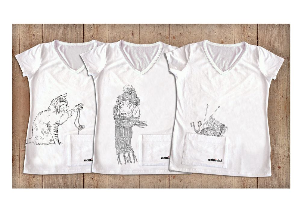 Anna Lisa Selter - Strick-Shirts