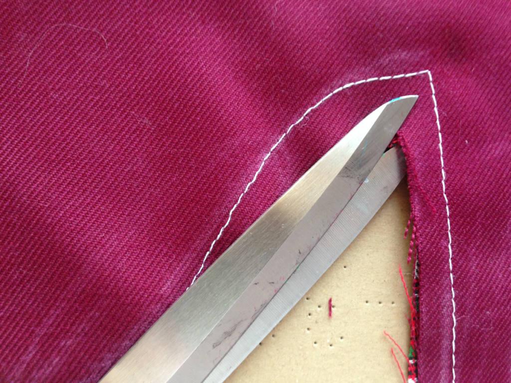 Cut edges for clean edges