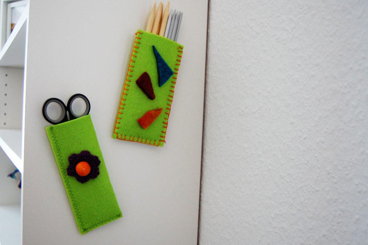 Aufbewahrung von Stricknadeln auf sockshype aufbewahrung DIY Aufbewahrung für Strick- und Häkelnadeln