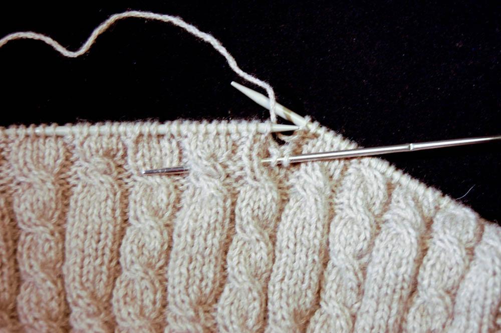 Cowl Schal stricken