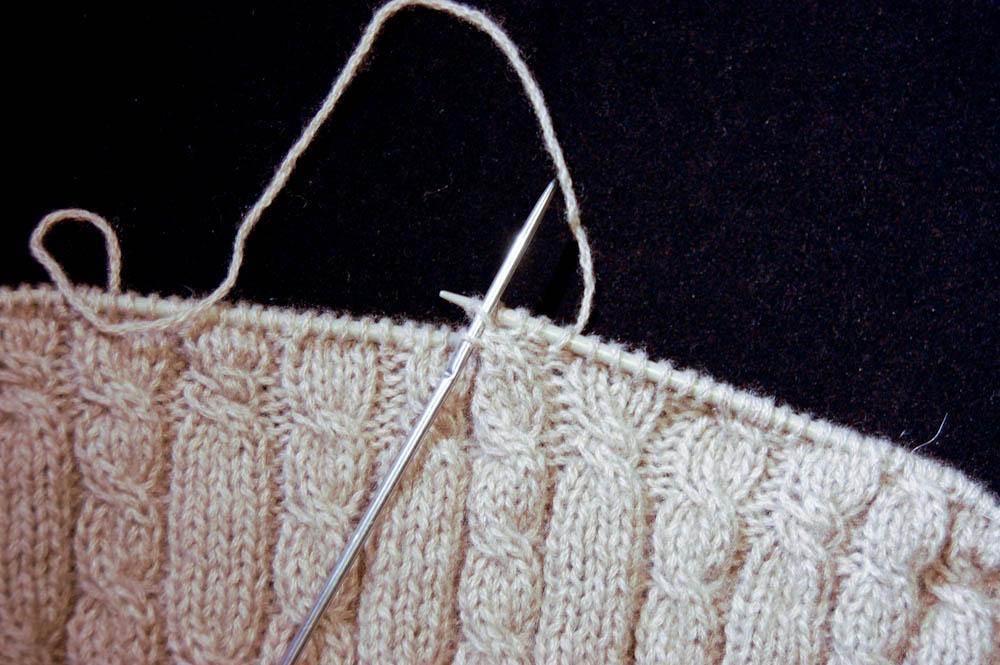 Strickanleitung: Cowl Schal stricken