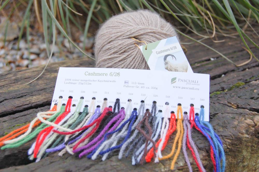 Alternative Farben zum Cowl Schal stricken