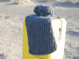 klassischer Schal stricken stricken sockshype