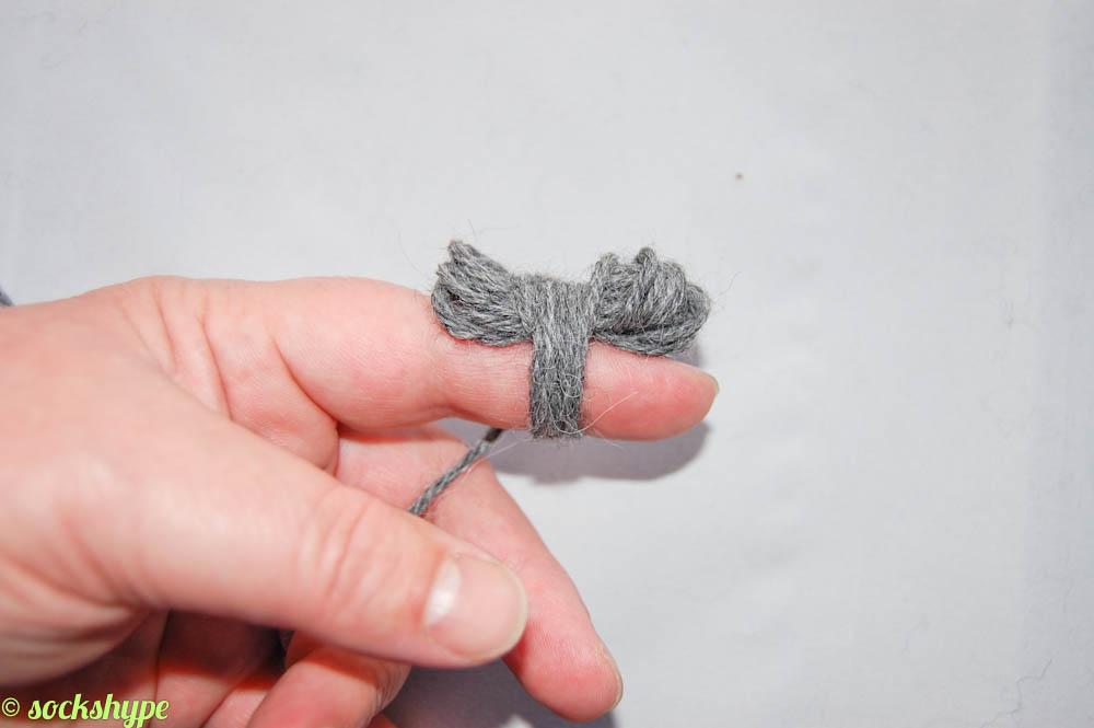 Knäuel wickeln auf sockshype