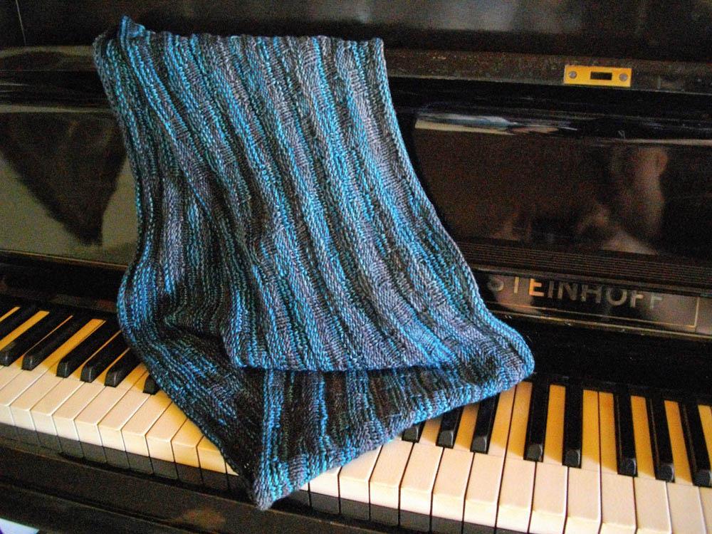 Snood Schal stricken auf sockshype