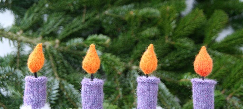 Weihnachtsdeko selber machen – Kerzen stricken weihnachtsdeko selber machen 10 geniale Anleitungen: Weihnachtsdeko selber machen
