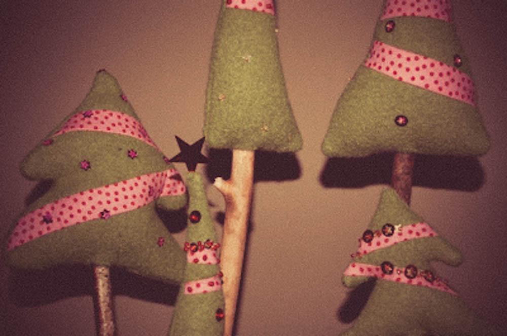Tannenbaum Oh Tannenbaum … weihnachtliche Dekoration
