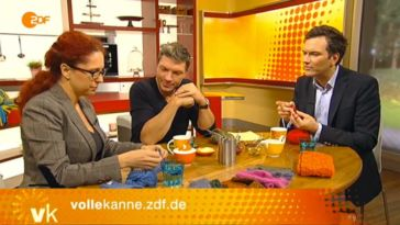 Trend stricken Der Trend Stricken bei Volle Kanne im ZDF