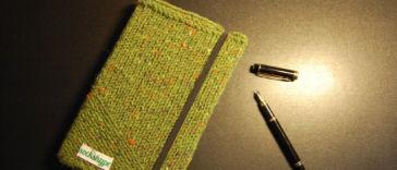 Gemacht mit Liebe und Wolle: Terminplaner Bucheinband stricken