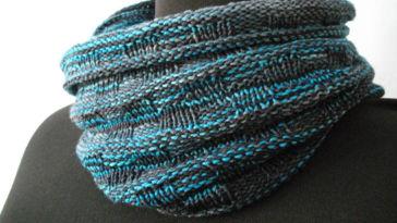 Gemacht mit Liebe und Wolle: Snood Schal stricken