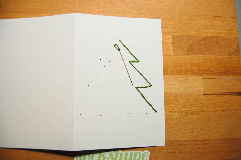 Weihnachtskarten selber machen-4 auf sockshype