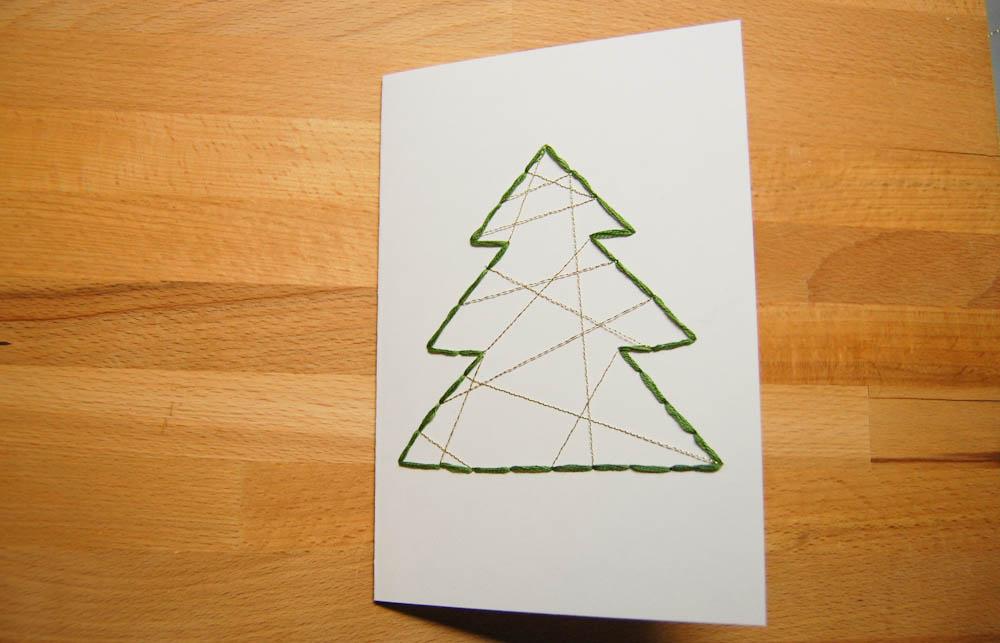 Weihnachtskarten selber machen-6 auf sockshype