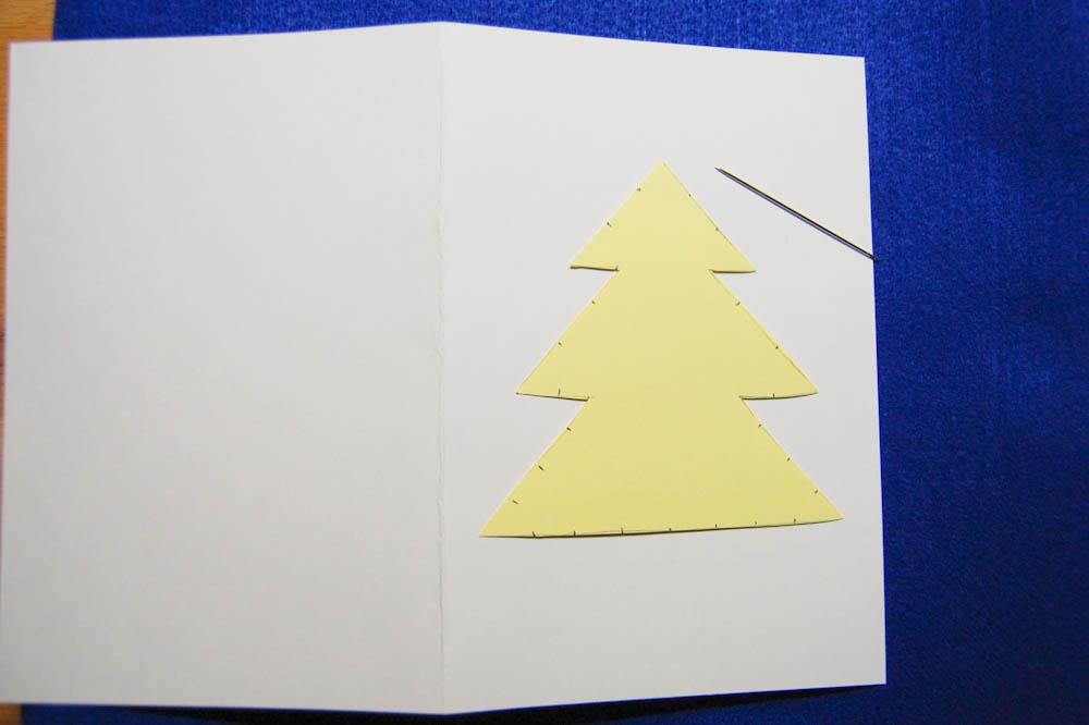 Weihnachtskarten selber machen-9 auf sockshype