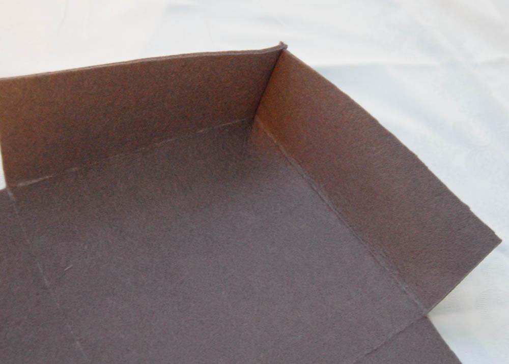 Brotkorb aus Filz nähen brotkorb aus filz Anleitung: Brotkorb aus Filz nähen
