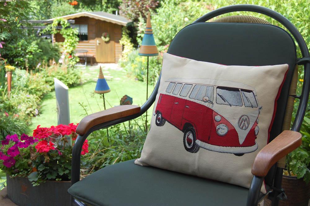 Kissen nähen für den VW-Bus-Fan