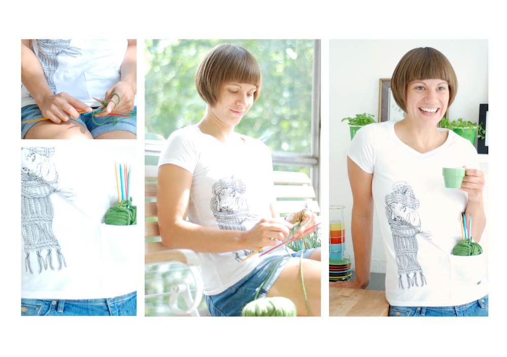 Stricker-Shirts von Addis Strick-Shirts Strick-Shirts – praktische Neuheit aus dem Hause addi