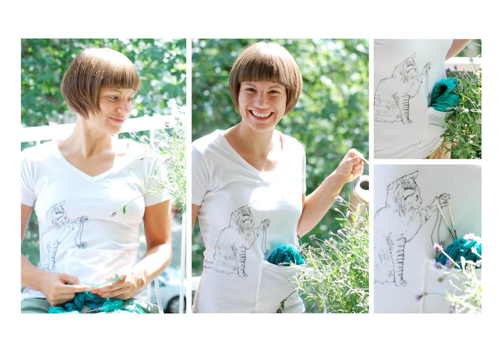 Sticker-Shirt von addi Strick-Shirts Strick-Shirts – praktische Neuheit aus dem Hause addi