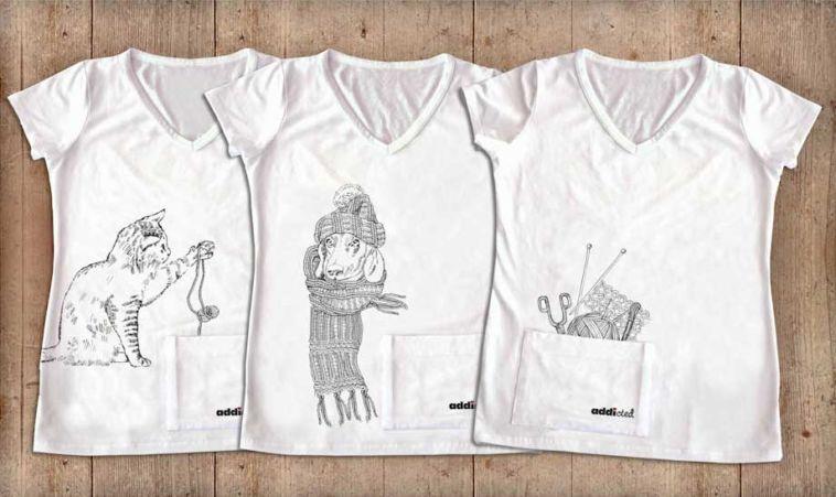Strick-Shirts Strick-Shirts – praktische Neuheit aus dem Hause addi