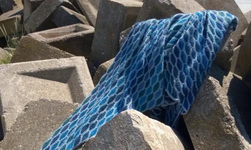 Tuch ocean blue