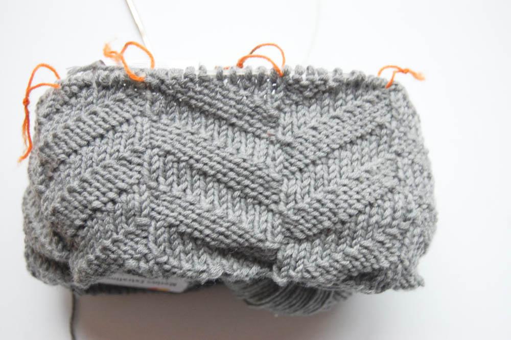 Kragenloop Kragen Loop Anleitung: Kragen Loop stricken