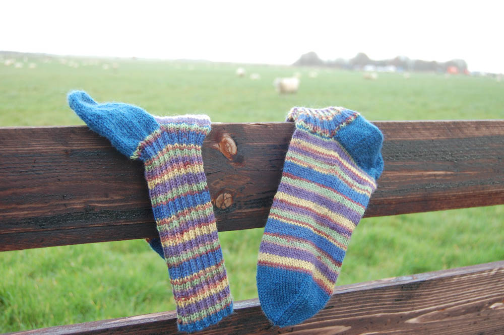 Tutorial: knitting socks pattern knitting socks Tutorial: Knitting socks in 7 steps