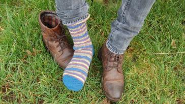 knitting socks Tutorial: Knitting socks in 7 steps