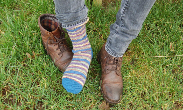 knitting socks Tutorial: Knitting socks in 7 steps