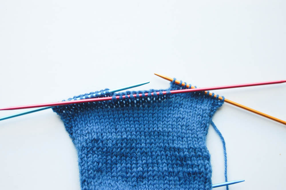 Knitting socks knitting socks Tutorial: Knitting socks in 7 steps
