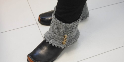 Geschenke - Gamaschen stricken schöne füße Thema des Monats 9/2015: Schöne Füße unterwegs