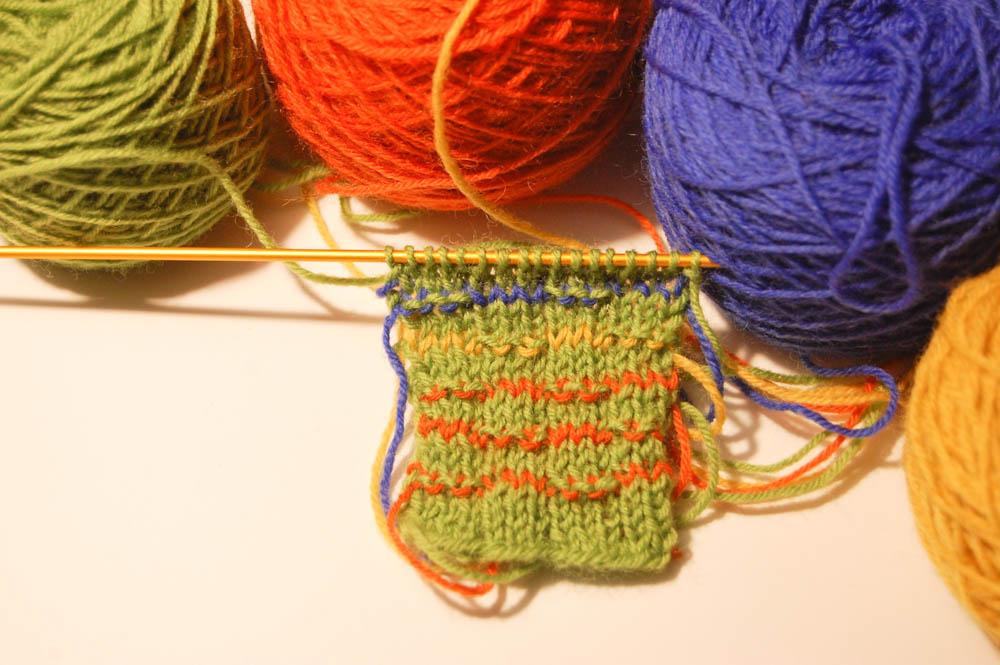 Socken aus Wollresten socken stricken aus wollresten Anleitung: Socken stricken aus Wollresten mit Bumerangferse