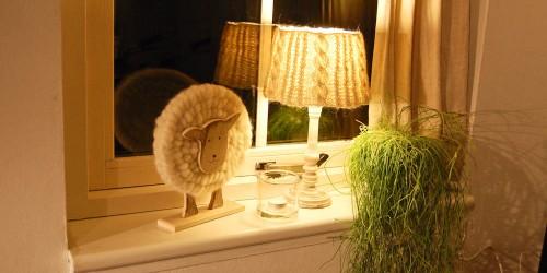 Lampenschirm Fenster gemütlich dekorative beleuchtung Thema des Monats 11/2015: Dekorative Beleuchtung