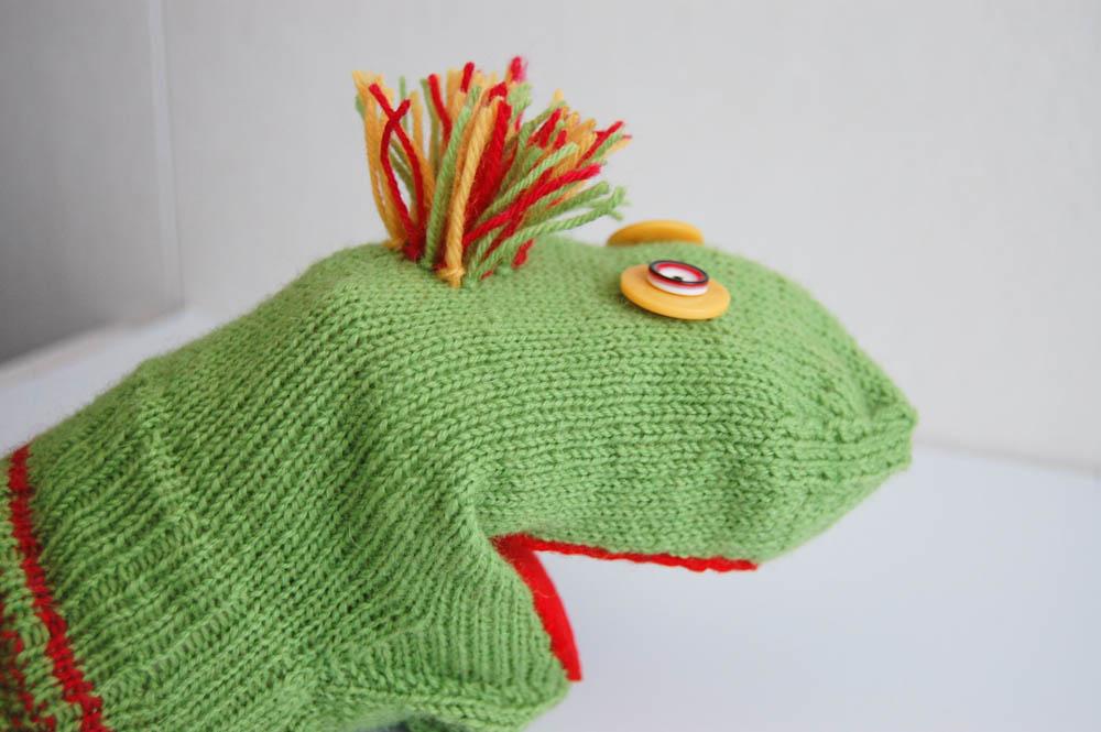 handpuppe aus socken Anleitung: Handpuppe aus Socken – Sockenmonster