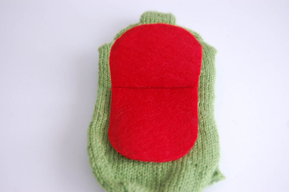 Handpuppe aus Socke handpuppe aus socken Anleitung: Handpuppe aus Socken – Sockenmonster