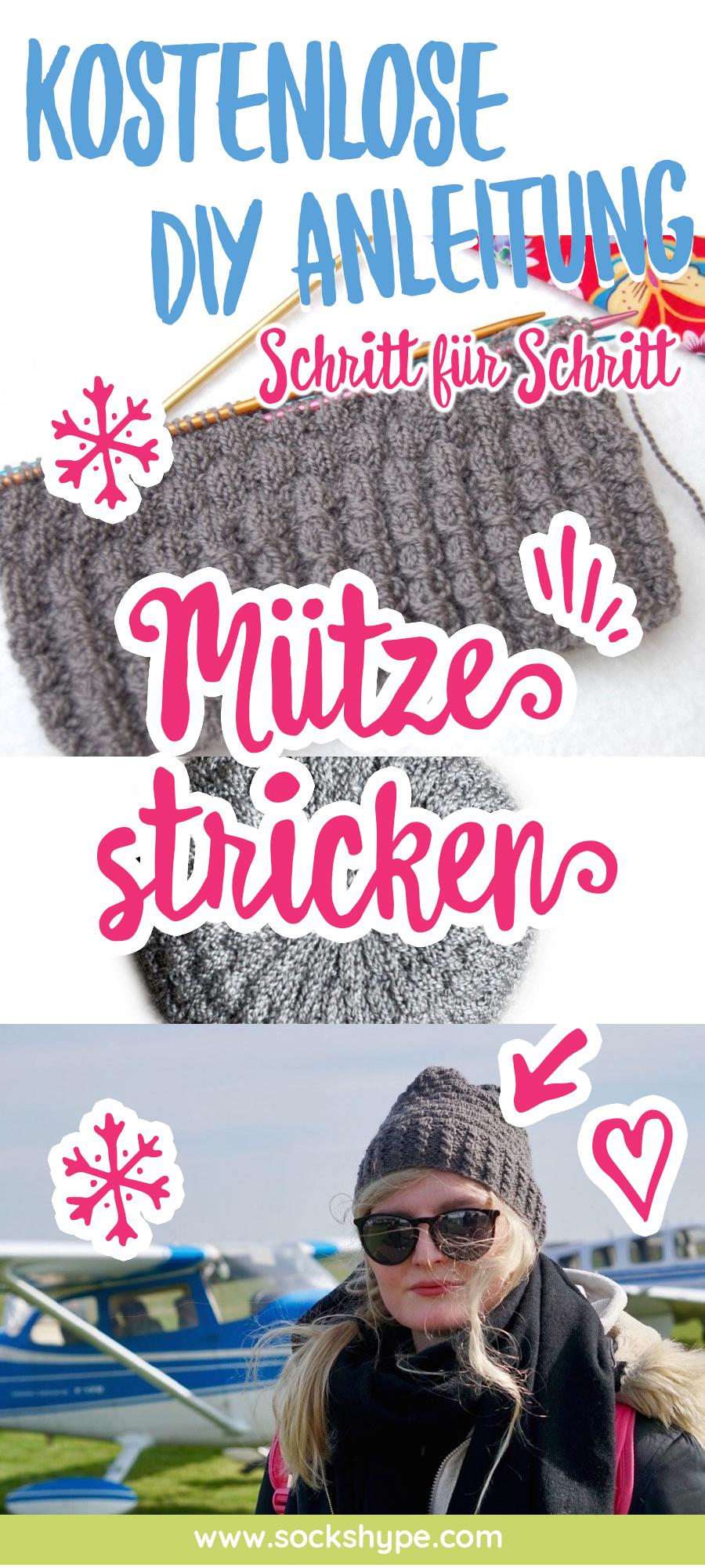Warme Mütze stricken (Anleitung) mütze stricken Anleitung: Kuschelig warme Mütze stricken