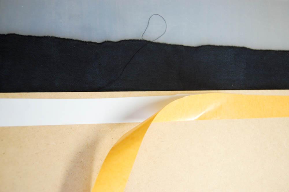 "gehäkeltes Wandbild - doppelseitiges Klebeband gehäkeltes wandbild Anleitung: Gehäkeltes Wandbild ""bull's eye"""