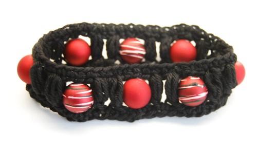 Armband häkeln-7 Geschenk selber machen, stricken, nähen oder häkeln – mit Anleitung