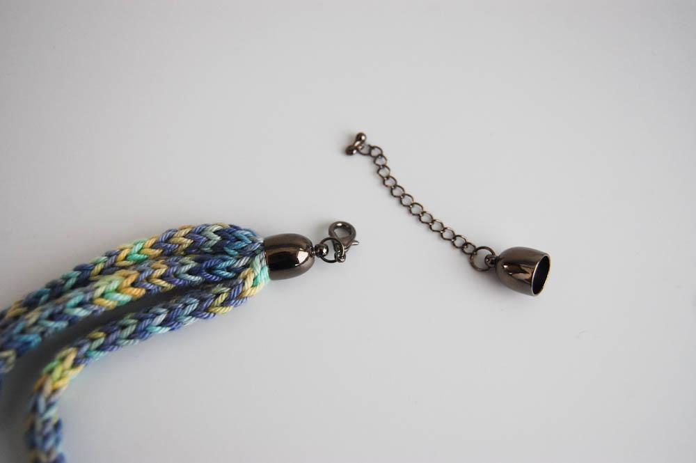 Kette mit Strickliesel-4 strickliesel Anleitung: Kette mit Strickliesel stricken