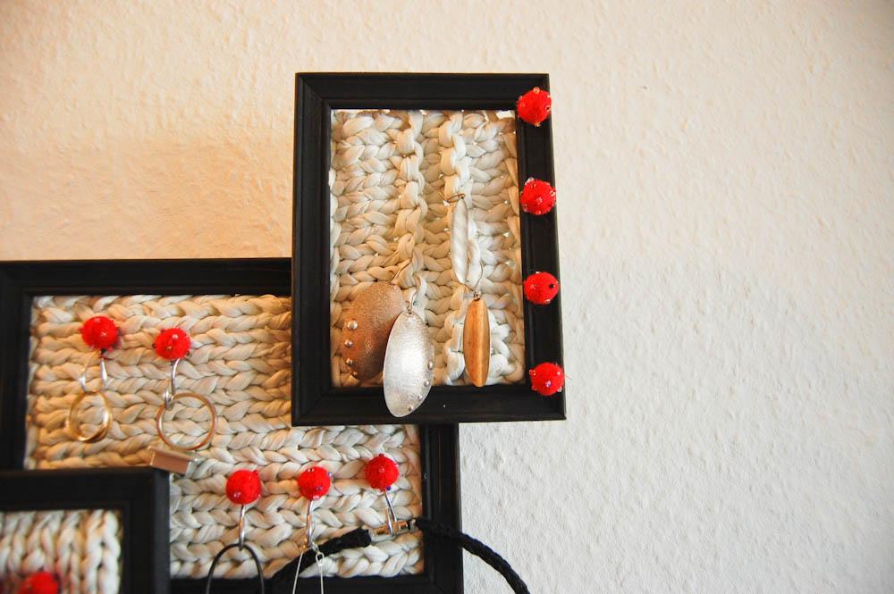 anleitung schmuckaufbewahrung selber machen. Black Bedroom Furniture Sets. Home Design Ideas